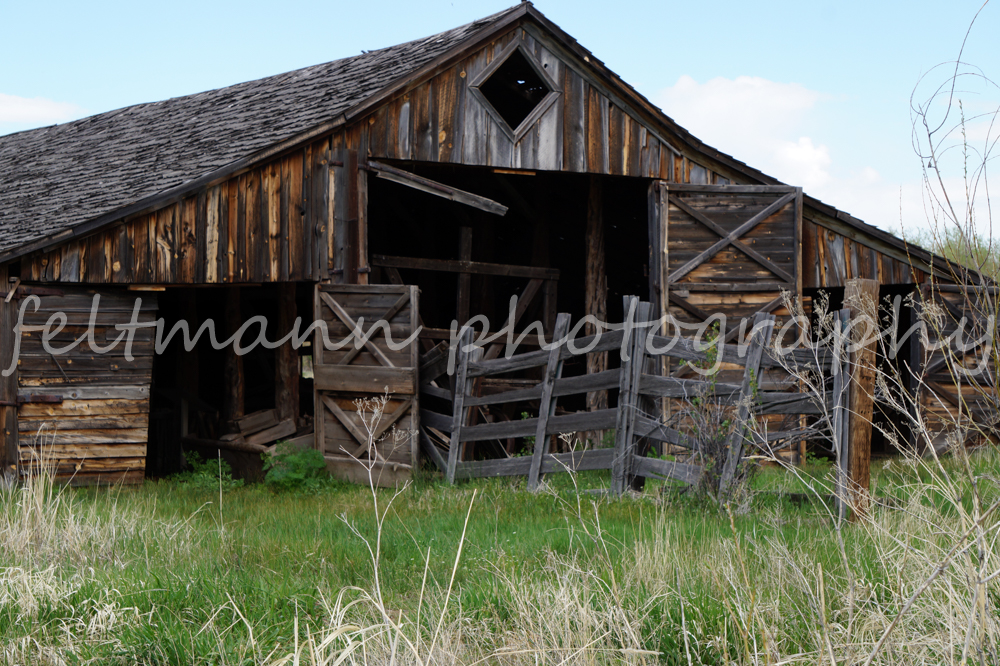 P Ranch Long Barn, Malheur NWR, Harney County, Oregon